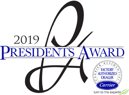 2019 presidents award logo